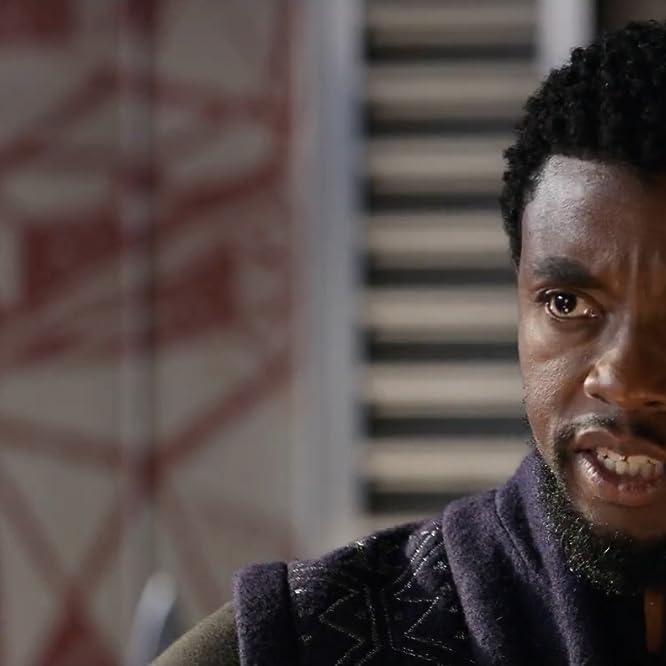 Chadwick Boseman in Avengers: Infinity War (2018)