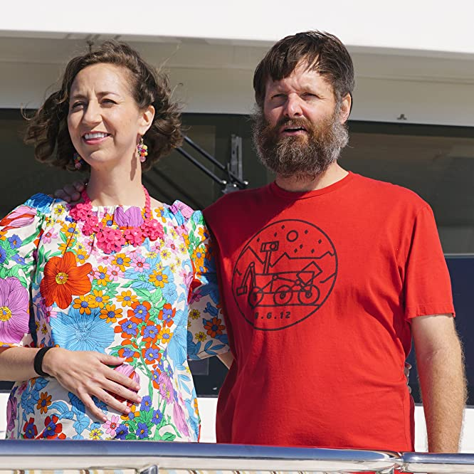Will Forte and Kristen Schaal in The Last Man on Earth (2015)
