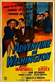 Adventure in Washington Poster