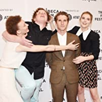 Max Winkler, Maya Eshet, Zoey Deutch, and Joey Morgan at an event for Flower (2017)