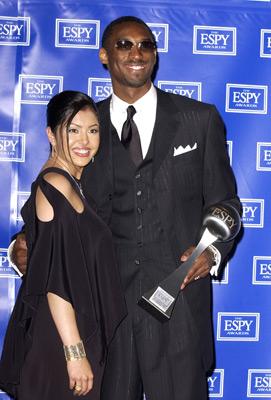 Kobe Bryant and Vanessa Laine Bryant at ESPY Awards (2002)