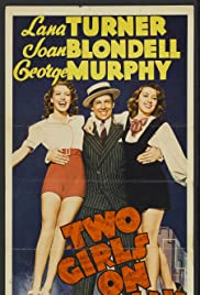 Two Girls on Broadway Poster