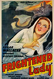 The Frightened Lady Poster