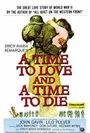 A Time to Love and a Time to Die Poster