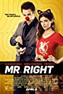 Mr. Right (2015) Poster
