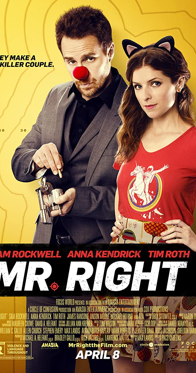 Mano Tobulas Gangsteris / Mr Right (2015) Online