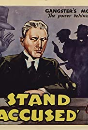 I Stand Accused Poster