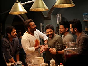Ajay Devgn, Arshad Warsi, Tusshar Kapoor, and Shreyas Talpade in Golmaal Again (2017)