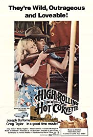 High Rolling in a Hot Corvette Poster