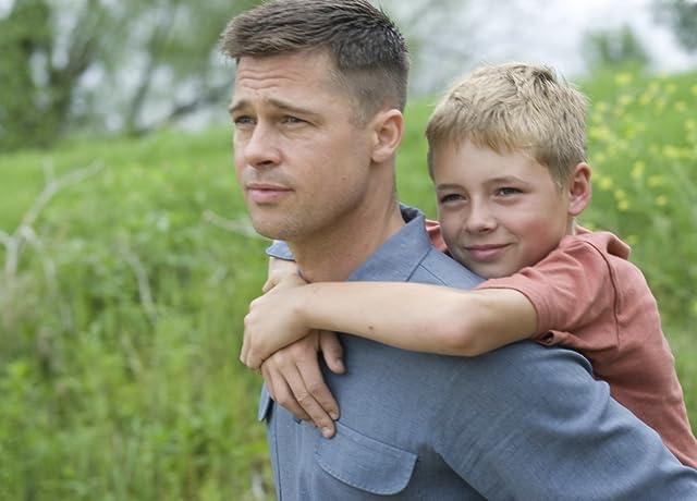 Brad Pitt and Laramie Eppler in The Tree of Life (2011)
