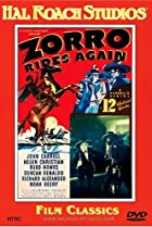 Image of Zorro Rides Again