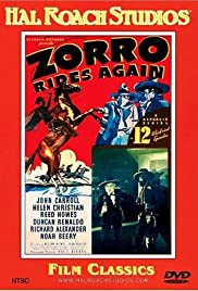 Zorro Rides Again (1937) Poster - Movie Forum, Cast, Reviews