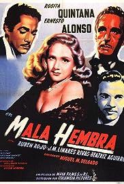 Mala hembra Poster