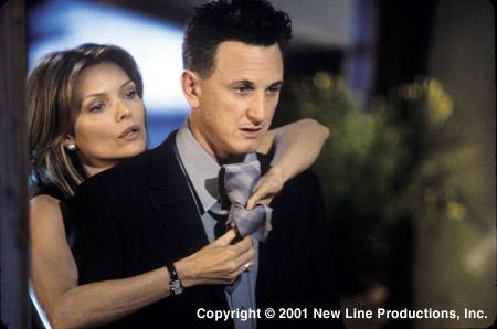Michelle Pfeiffer and Sean Penn in I Am Sam (2001)