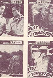 West of Tombstone Poster