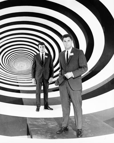 Robert Colbert and James Darren in The Time Tunnel (1966)