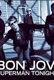 Bon Jovi: Superman Tonight Poster