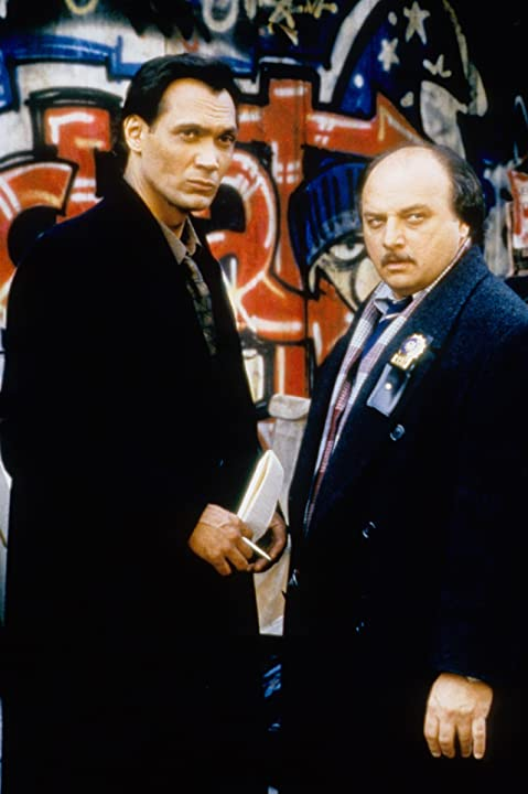 Dennis Franz and Jimmy Smits in NYPD Blue (1993)