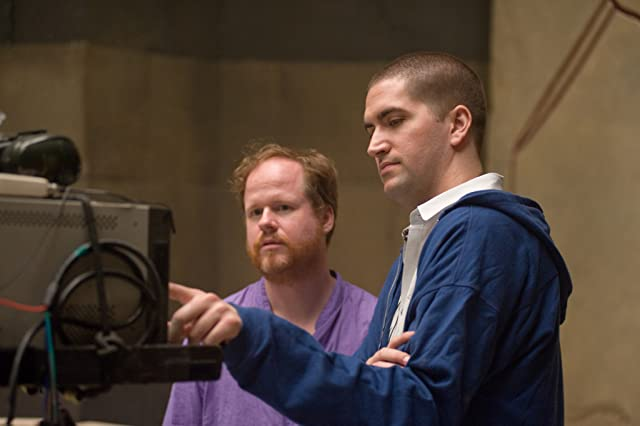 Joss Whedon and Drew Goddard in The Cabin in the Woods (2012)