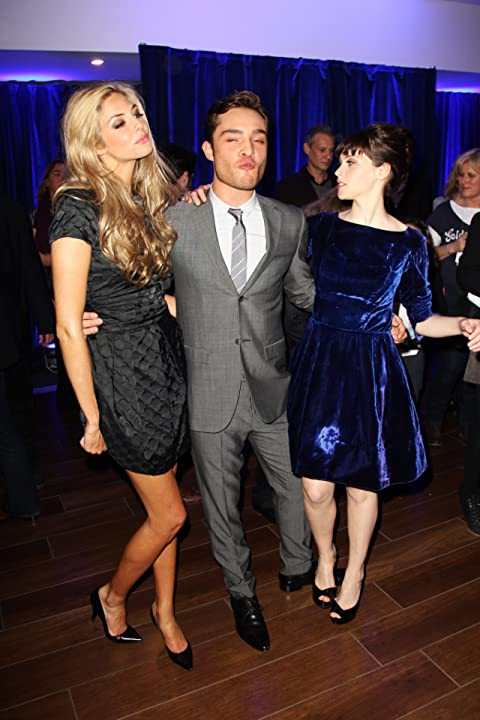 Felicity Jones, Tamsin Egerton, and Ed Westwick at an event for Chalet Girl (2011)