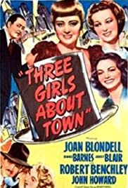 Three Girls About Town (1941) Poster - Movie Forum, Cast, Reviews