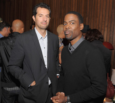 Chris Rock and Guy Oseary at an event for Good Hair (2009)