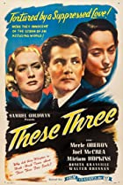 These Three (1936) Poster
