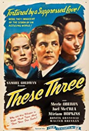 These Three (1936) Poster - Movie Forum, Cast, Reviews