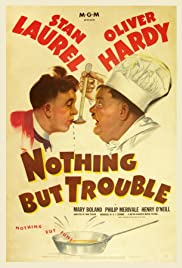 Nothing But Trouble(1944) Poster - Movie Forum, Cast, Reviews