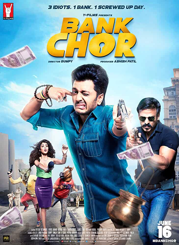 Poster Bank Chor 2017 Full HD Movie Download In 720p