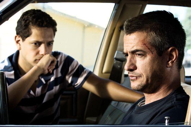 Dermot Mulroney and Cesar Ramos in Inhale (2010)