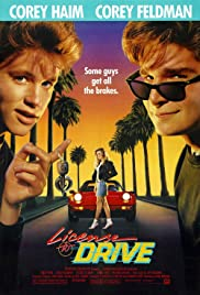 License to Drive (1988) Poster - Movie Forum, Cast, Reviews