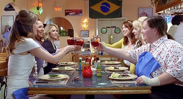 Rose Byrne, Melissa McCarthy, Maya Rudolph, Wendi McLendon-Covey, Kristen Wiig, and Ellie Kemper in Bridesmaids (2011)