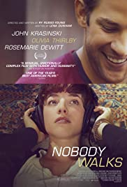 Nobody Walks (2012) Poster - Movie Forum, Cast, Reviews
