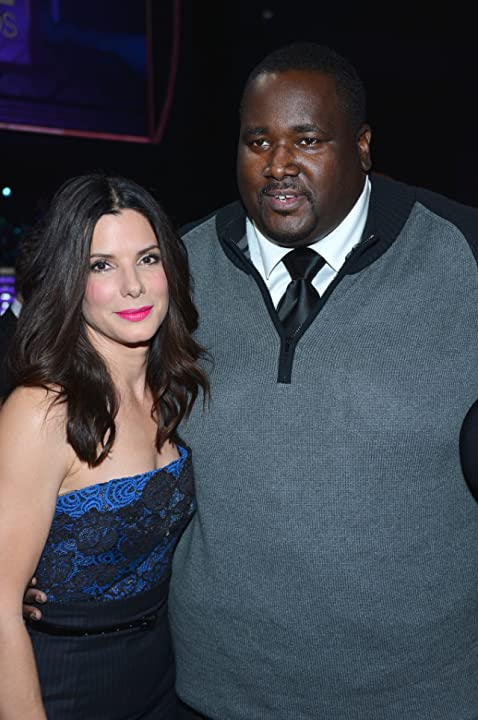 Sandra Bullock and Quinton Aaron at The 39th Annual People's Choice Awards (2013)