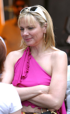 Kim Cattrall at an event for Sex and the City (1998)