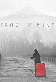 A Frog in Winter Poster