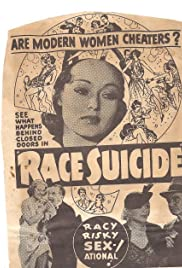 Race Suicide Poster