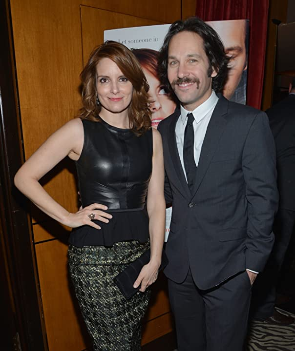 Tina Fey and Paul Rudd at Admission (2013)