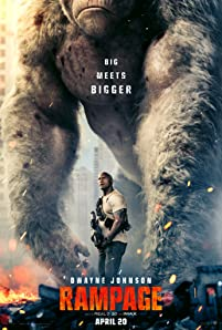 Primatologist Davis Okoye (Johnson), a man who keeps people at a distance, shares an unshakable bond with George, the extraordinarily intelligent, silverback gorilla who has been in his care since birth. But a rogue genetic experiment gone awry mutates this gentle ape into a raging creature of enormous size. To make matters worse, it's soon discovered there are other similarly altered animals. As these newly created alpha predators tear across North America, destroying everything in their path, Okoye teams with a discredited genetic engineer to secure an antidote, fighting his way through an ever-changing battlefield, not only to halt a global catastrophe but to save the fearsome creature that was once his friend.