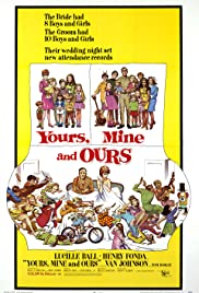Yours, Mine and Ours (1968) Poster - Movie Forum, Cast, Reviews