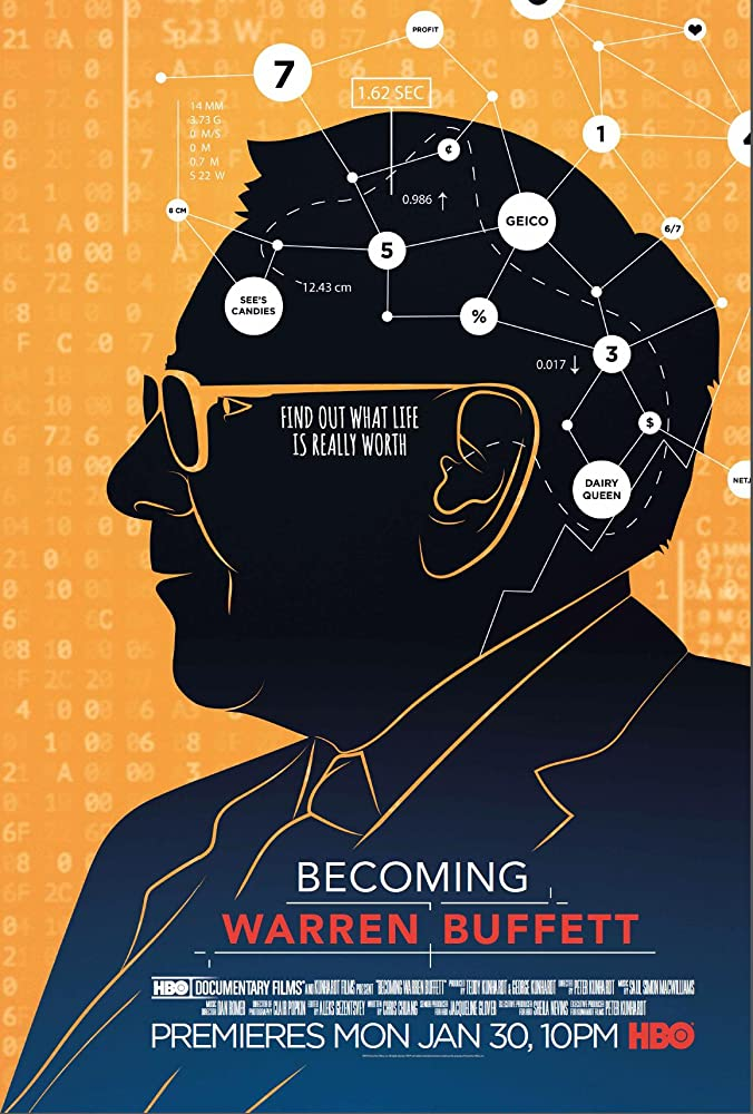 Becoming Warren Buffett film poster