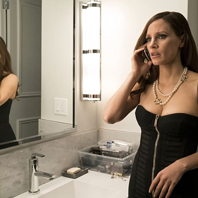 Jessica Chastain in Molly's Game (2017)