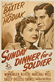 Sunday Dinner for a Soldier (1944) Poster - Movie Forum, Cast, Reviews