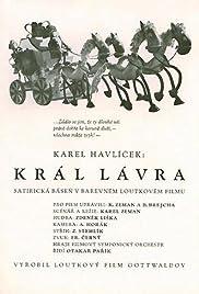 Král Lávra Poster
