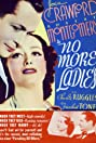 No More Ladies (1935) Poster