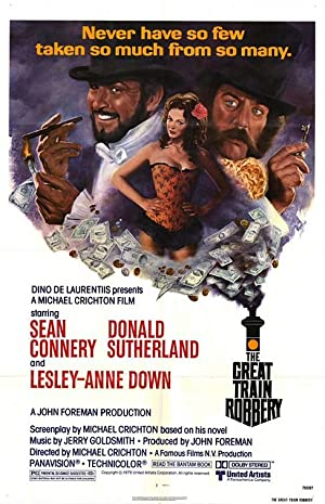 The Great Train Robbery poster