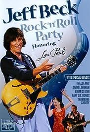 Jeff Beck Honors Les Paul Poster