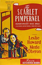 The Scarlet Pimpernel poster