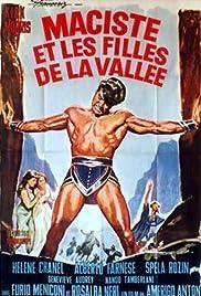 Hercules of the Desert Poster
